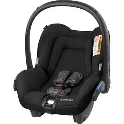 babyschale comfort fix inkl isofix base black hauck. Black Bedroom Furniture Sets. Home Design Ideas