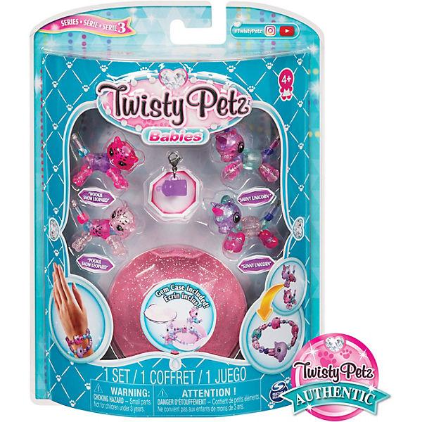 Набор бусин Twisty Petz для плетения 4 браслетов-мини-питомцев