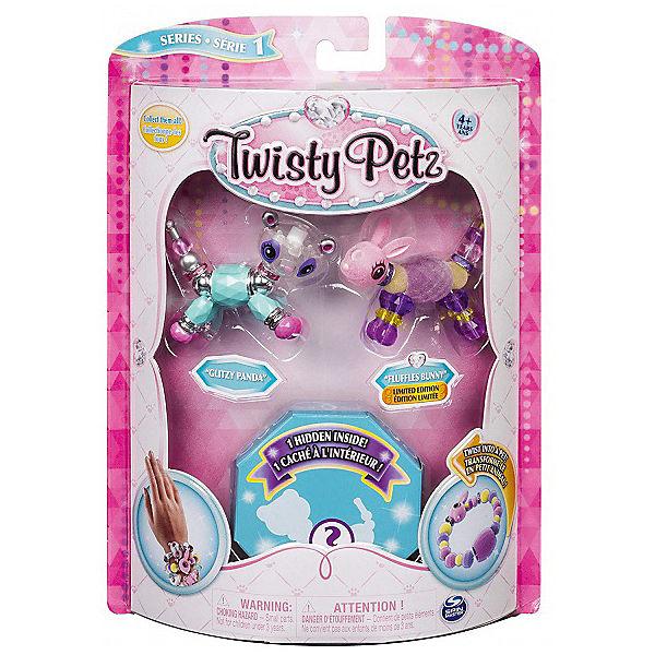 Набор бусин Twisty Petz для плетения 3 браслетов-питомцев