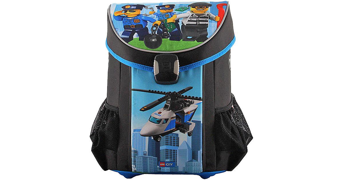 LEGO · Schulranzenset EASY LEGO CITY Police Chopper, 3-tlg.