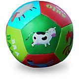"""Мягкий мяч Crocodile Creek """"Ферма"""", 10 см"""