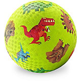 """Мяч Crocodile Creek """"Динозавры"""" зелёный, 18 см"""