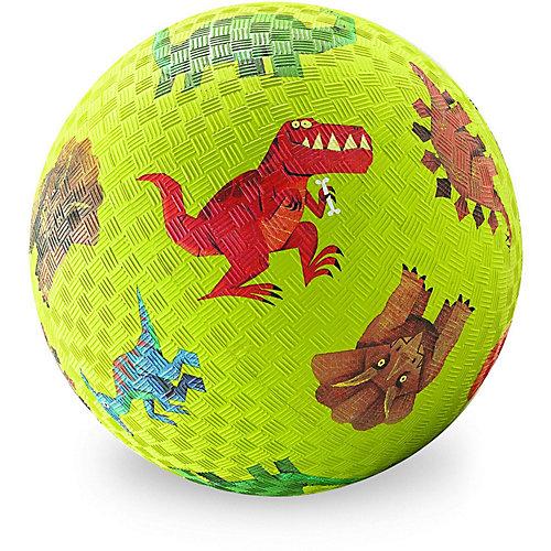 """Мяч Crocodile Creek """"Динозавры"""" зелёный, 13 см от Crocodile Creek"""