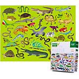 """Пазл Crocodile Creek """"36 животных"""" Рептилиии и земноводные, 300 элементов"""