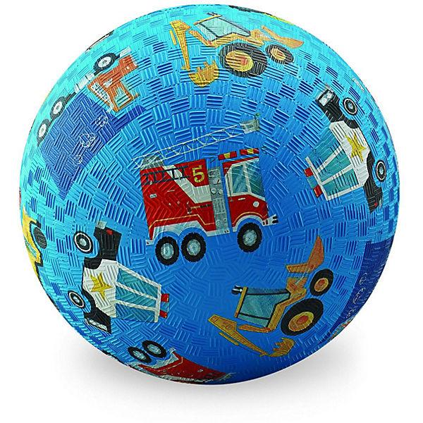 "Мяч Crocodile Creek ""Голубая машина"", 13 см"