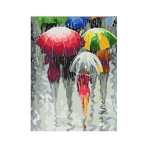 "Картина по номерам Color KIT ""Зонтики"", 30х40 см"
