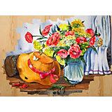 """Картина по номерам на дереве Color KIT """"Соломенная шляпка"""", 40х50 см"""
