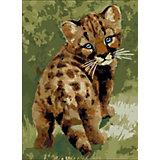 """Картина по номерам Color KIT """"Детёныш леопарда"""", 30х40 см"""