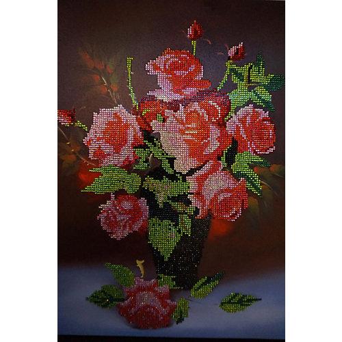 "Алмазная мозаика Color KIT ""Букет роз"", 40х50 см от Color KIT"