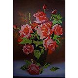 "Алмазная мозаика Color KIT ""Букет роз"", 40х50 см"