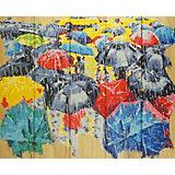 """Картина по номерам на дереве Color KIT """"Осенний блюз"""", 40х50 см"""