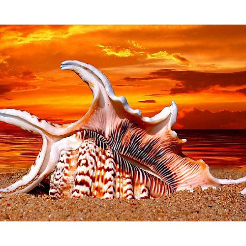 """Алмазная картина-раскраска Color KIT """"Жаркий закат"""", 40х50 см от Color KIT"""