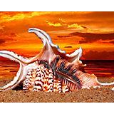 """Алмазная картина-раскраска Color KIT """"Жаркий закат"""", 40х50 см"""