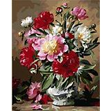 "Картина по номерам Color KIT ""Пионы в цвету"", 40х50 см"