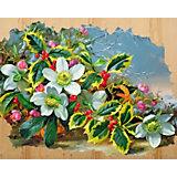 """Картина по номерам на дереве Color KIT """"Морозный букет"""", 40х50 см"""