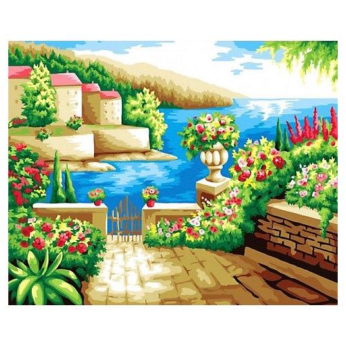 """Алмазная мозаика Color KIT """"Средиземноморский пейзаж"""", 40х50 см от Color KIT"""