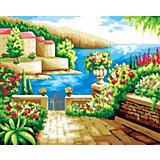 """Алмазная мозаика Color KIT """"Средиземноморский пейзаж"""", 40х50 см"""