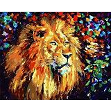 """Картина по номерам Color KIT """"Благородный лев"""", 40х50 см"""