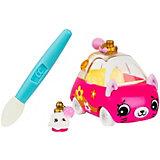 """Машинка меняющая цвет Moose """"Cutie Car"""" Парфюм ле Зум, с кисточкой"""