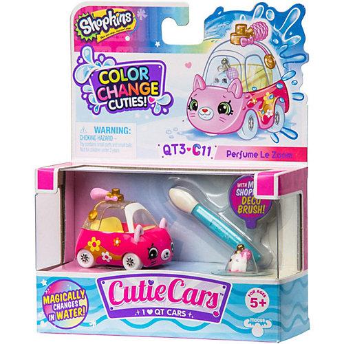 """Машинка меняющая цвет Moose """"Cutie Car"""" Парфюм ле Зум, с кисточкой от Moose"""