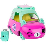 "Машинка Moose ""Cutie Car"" Лэптоп Лимо с фигуркой Shopkins, 3 сезон"
