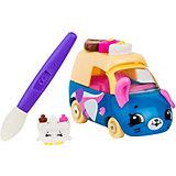 """Машинка меняющая цвет Moose """"Cutie Car"""" Фургончик мороженого, с кисточкой"""