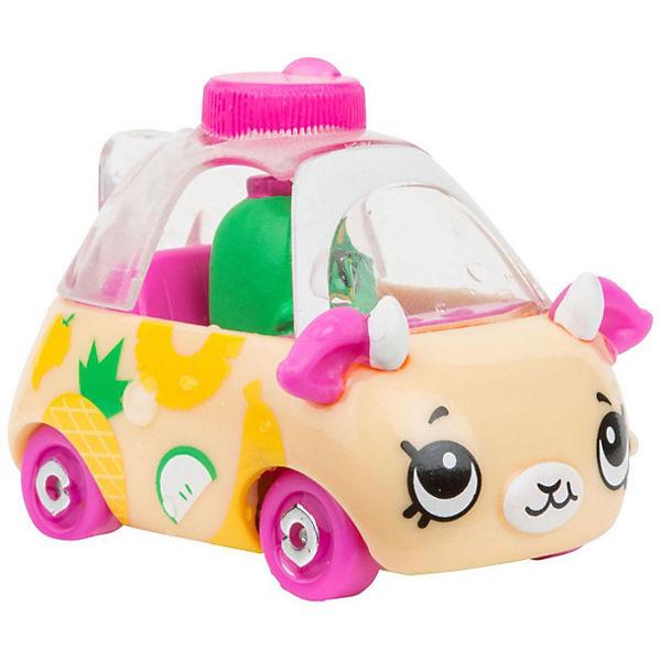 """Машинка меняющая цвет Moose """"Cutie Car"""" Джуси Драйвер, с кисточкой"""
