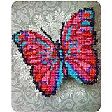 "Алмазная мозаика Color KIT ""Чудо-бабочка"", 17х21 см"