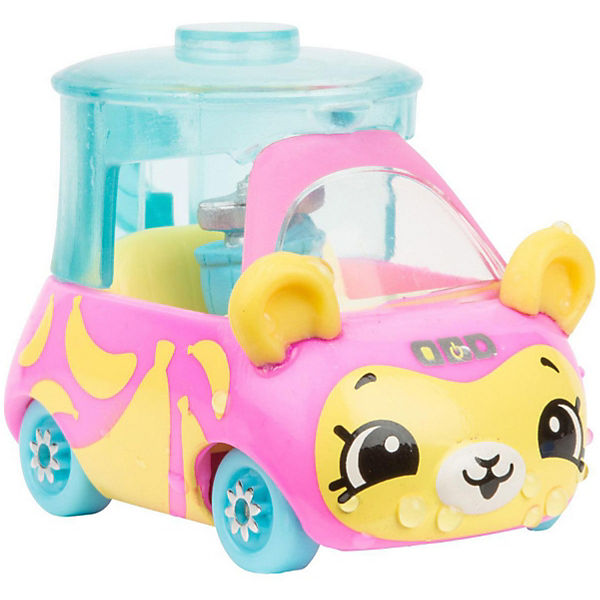 """Машинка меняющая цвет Moose """"Cutie Car"""" Бизи Блендер, с кисточкой"""