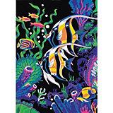 """Картина по номерам Color KIT """"Цветные рыбки"""", 30х40 см"""