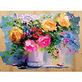 "Картина по номерам на дереве Color KIT ""Сочные краски"", 40х50 см"