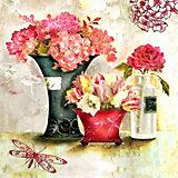 """Алмазная картина-раскраска Color KIT """"Розовый аромат"""", 40х40 см"""