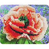 "Алмазная мозаика Color KIT ""Алый мак"", 17х21 см"