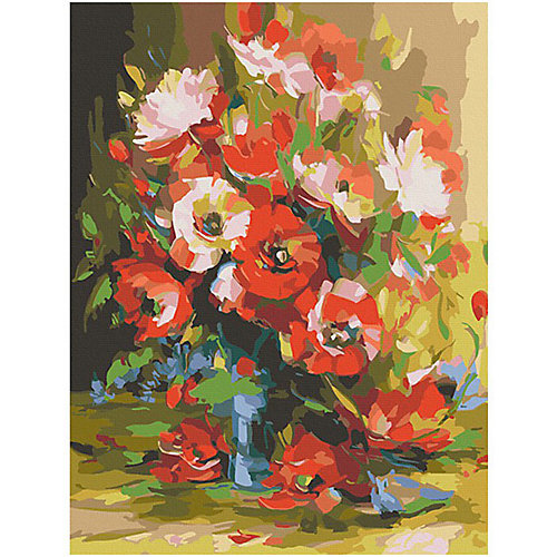 """Картина по номерам Color KIT """"Красные маки"""", 40х50 см от Color KIT"""