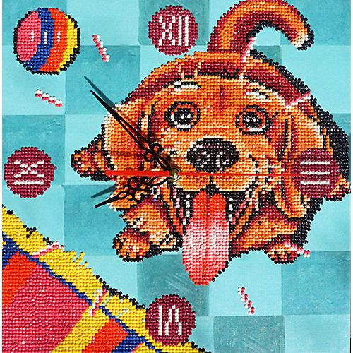 """Алмазная вышивка Color KIT """"Алмазные часы"""" Счастливый пёс, 30х30 см от Color KIT"""