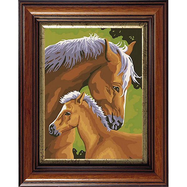 "Картина по номерам Color KIT ""С мамой"", 30х40 см"