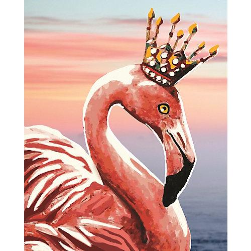 "Алмазная мозаика Color KIT ""Королевский фламинго"", 17х21 см от Color KIT"