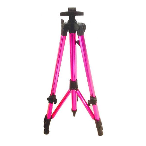 Мольберт-тренога Color KIT, розовый с ручкой
