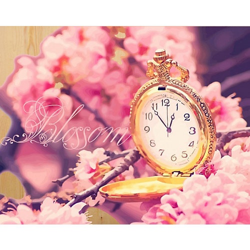 "Картина по номерам на дереве Color KIT ""Время цветения сакуры"", 40х50 см от Color KIT"