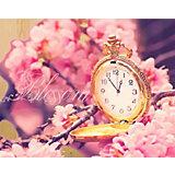 """Картина по номерам на дереве Color KIT """"Время цветения сакуры"""", 40х50 см"""