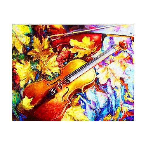 "Алмазная мозаика Color KIT ""Осенняя скрипка"", 40х50 см от Color KIT"