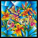 """Картина-витраж Color KIT """"Бабочки"""", 43х43 см"""