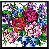 "Картина-витраж Color KIT ""Букет пионов"", 43х43 см"