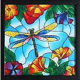 "Картина-витраж Color KIT ""Стрекоза"", 33х33 см"