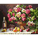 "Алмазная мозаика Color KIT ""Натюрморт с розами"", 40х50 см"