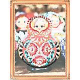 """Картина из пайеток Color KIT """"Матрёшка"""", 30х40 см"""