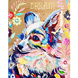 """Картина по номерам на дереве Color KIT """"Цветочная радость"""", 40х50 см"""