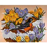 """Алмазная мозаика Color KIT """"Подснежники"""", 40х50 см"""