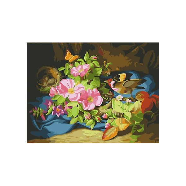 "Картина по номерам Color KIT ""Шиповник"", 30х40 см"