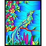 """Картина-витраж Color KIT """"Райская птица"""", 43х53 см"""